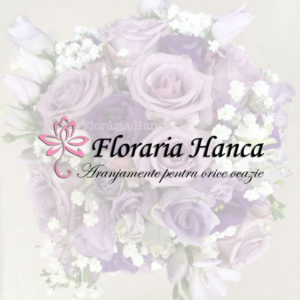 Aranjamente florale pentru nunta, buchete de mireasa, aranjamente personalizate, realizate de Floraria Hanca, situata in judetul Cluj, comuna Floresti.